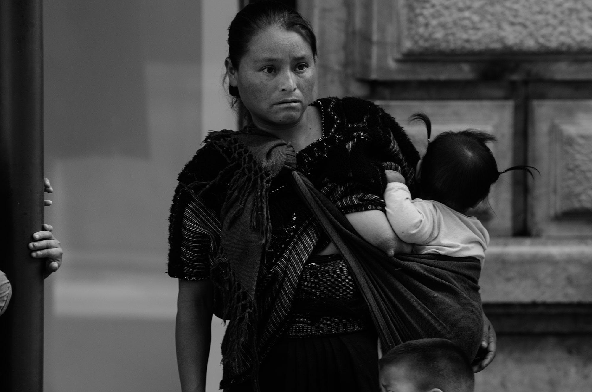 Motherhood . Mexico City, 2017.