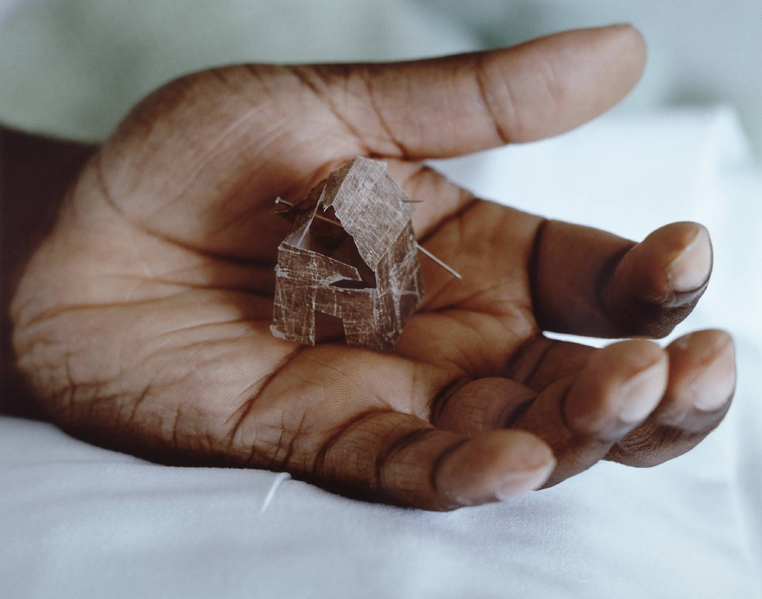 In the House of My Father ,1996–7 by Donald Rodney.