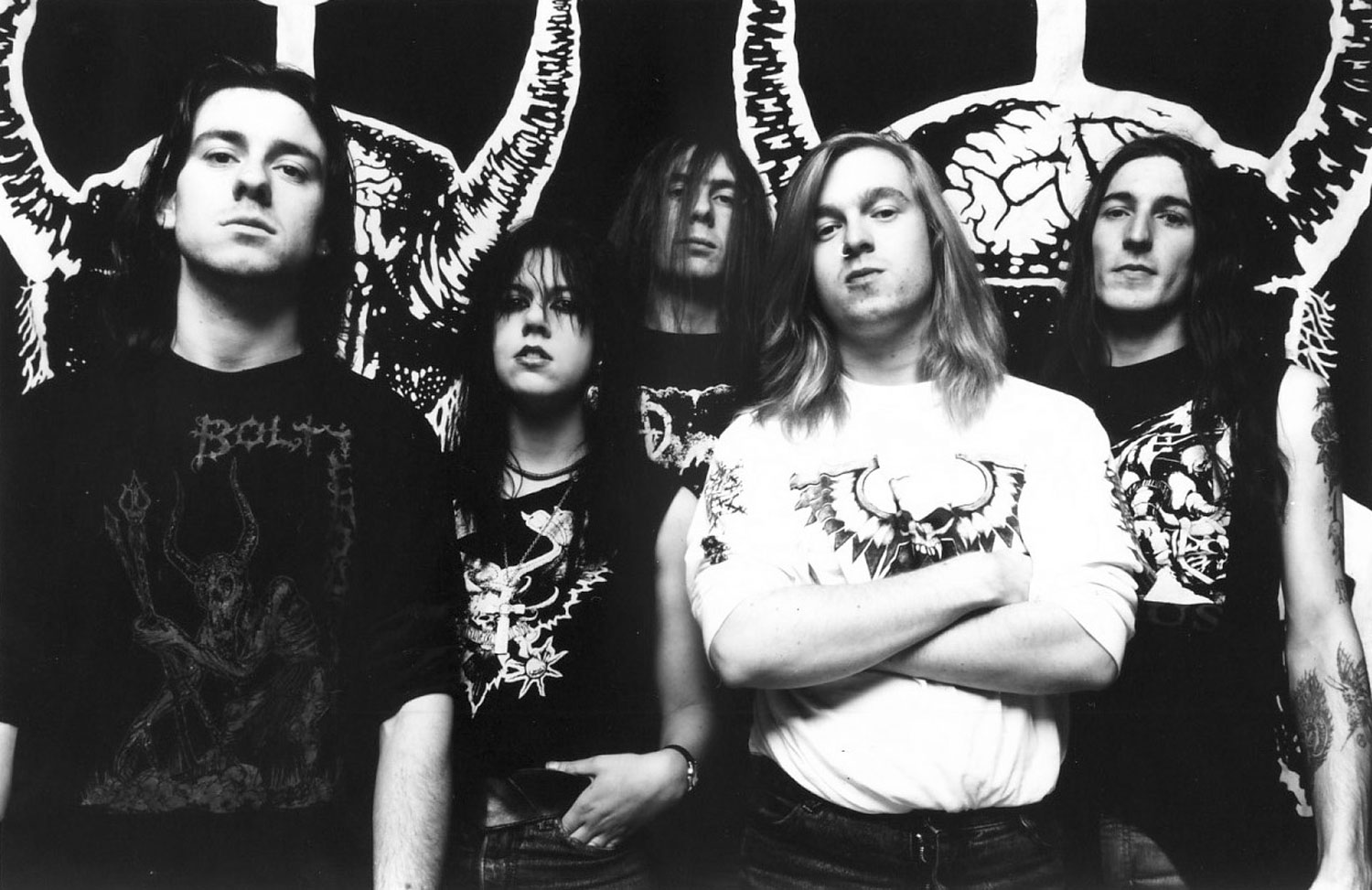 Death metal band Bolt Thrower. Photo source:Todestrieb Records