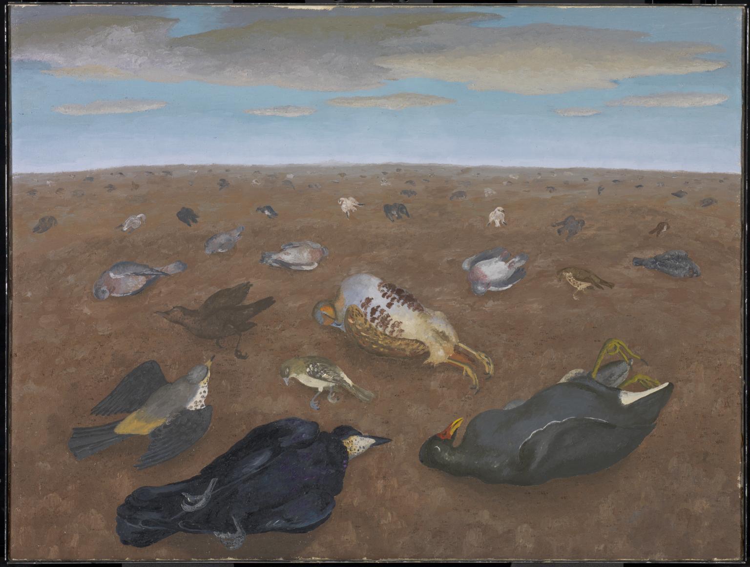 Landscape of Shame, 1960 by Sir Cedric Morris, Bt