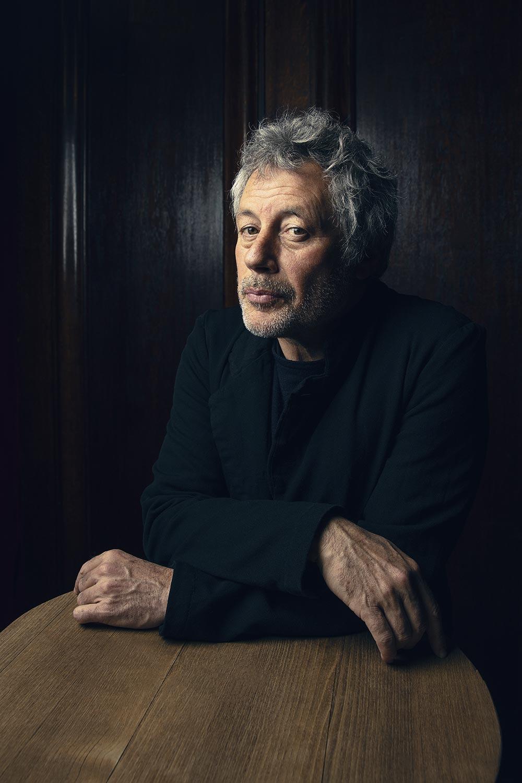 Alessandro Baricco, photo by Sebastian Magnani.