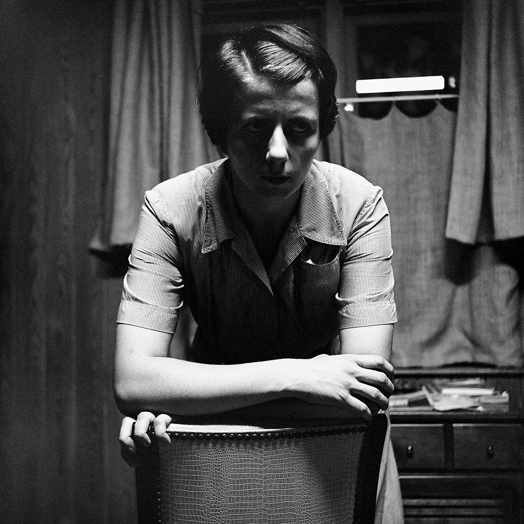 Vivian Maier 's self-portrait, 1956.