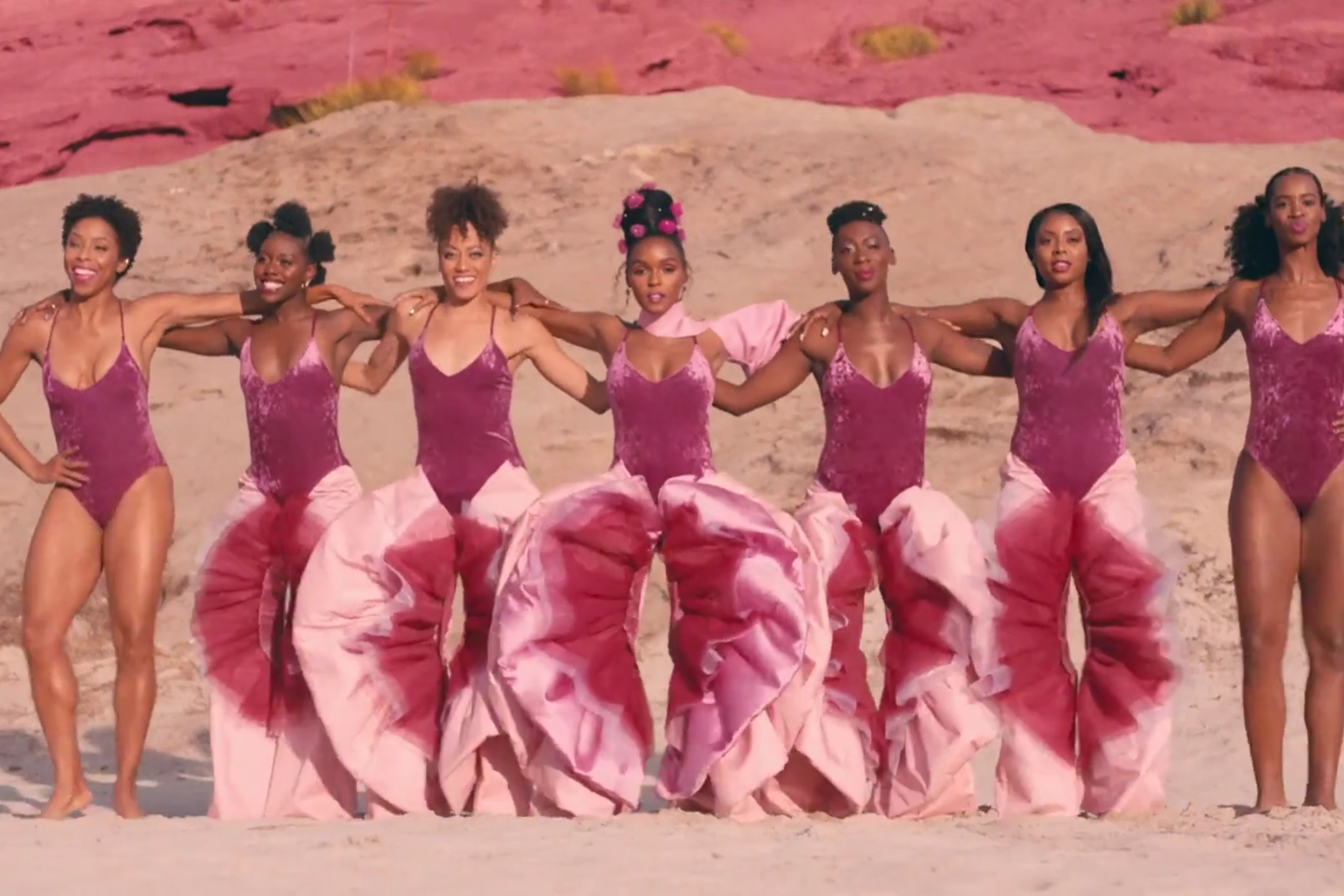 Still from Janelle Monae's  Pynk  music video, 2018.