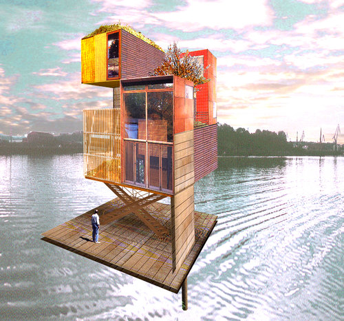 RISING WATERS AND HUMAN RIGHTS. ARCHITECTURE AS ACTIVISM