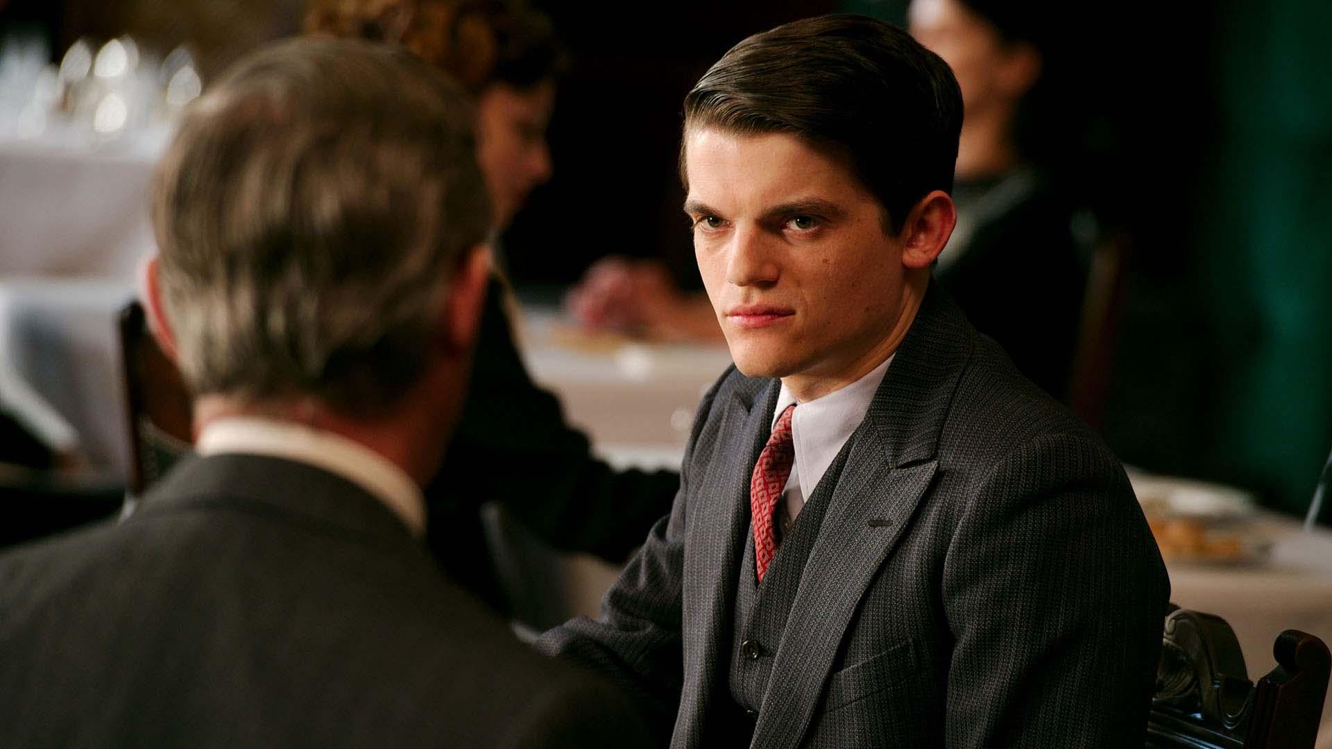 Edward Bluemel as Toby Hamilton in  The Halcyon .