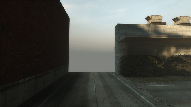 The End of the Virtual World,  2010 by Robert Overweg.