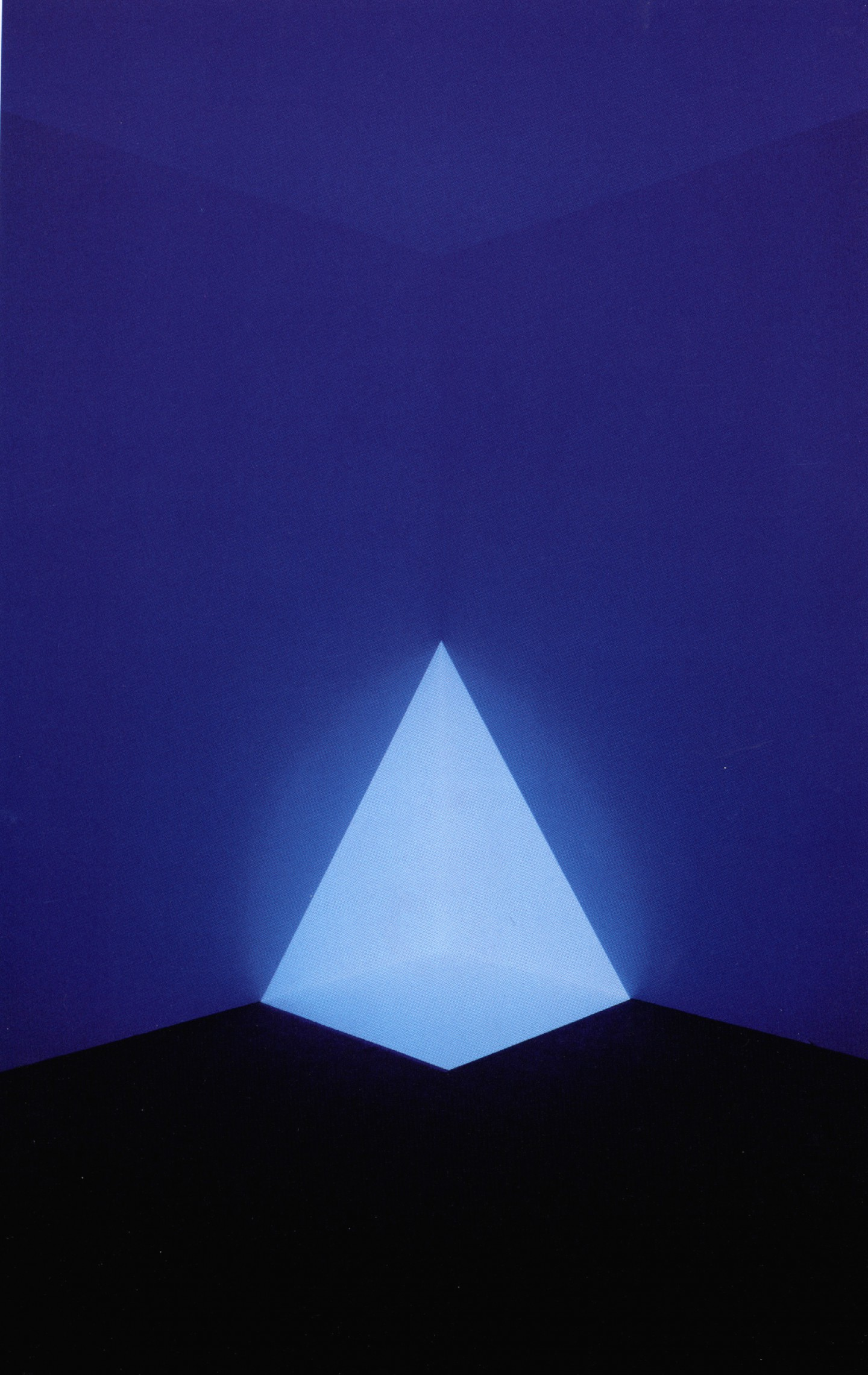 Alta Blue, 1968 by James Turrell.