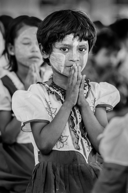 From the series  Portraits of Myanmar .