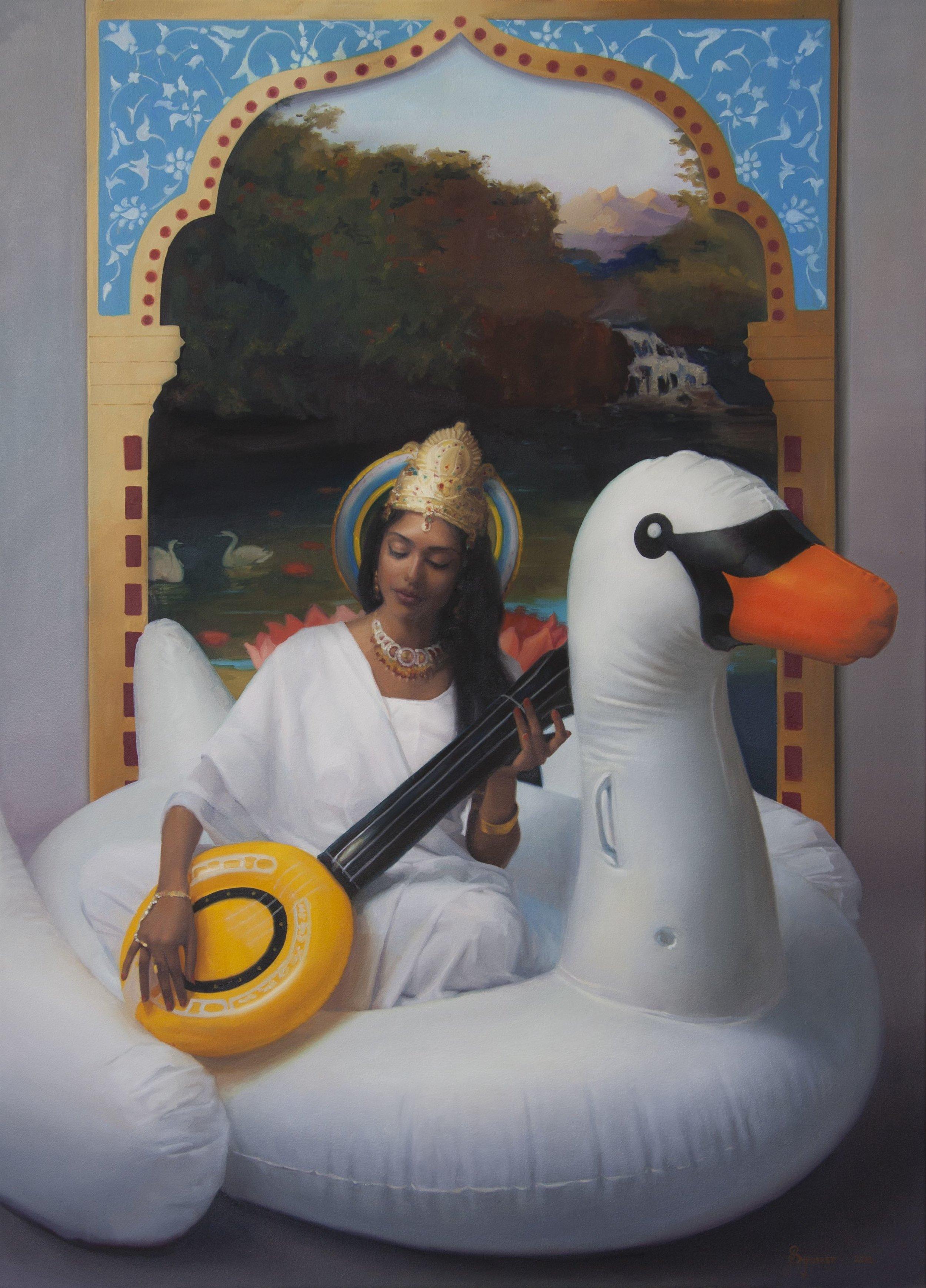 Saraswati,  2013.