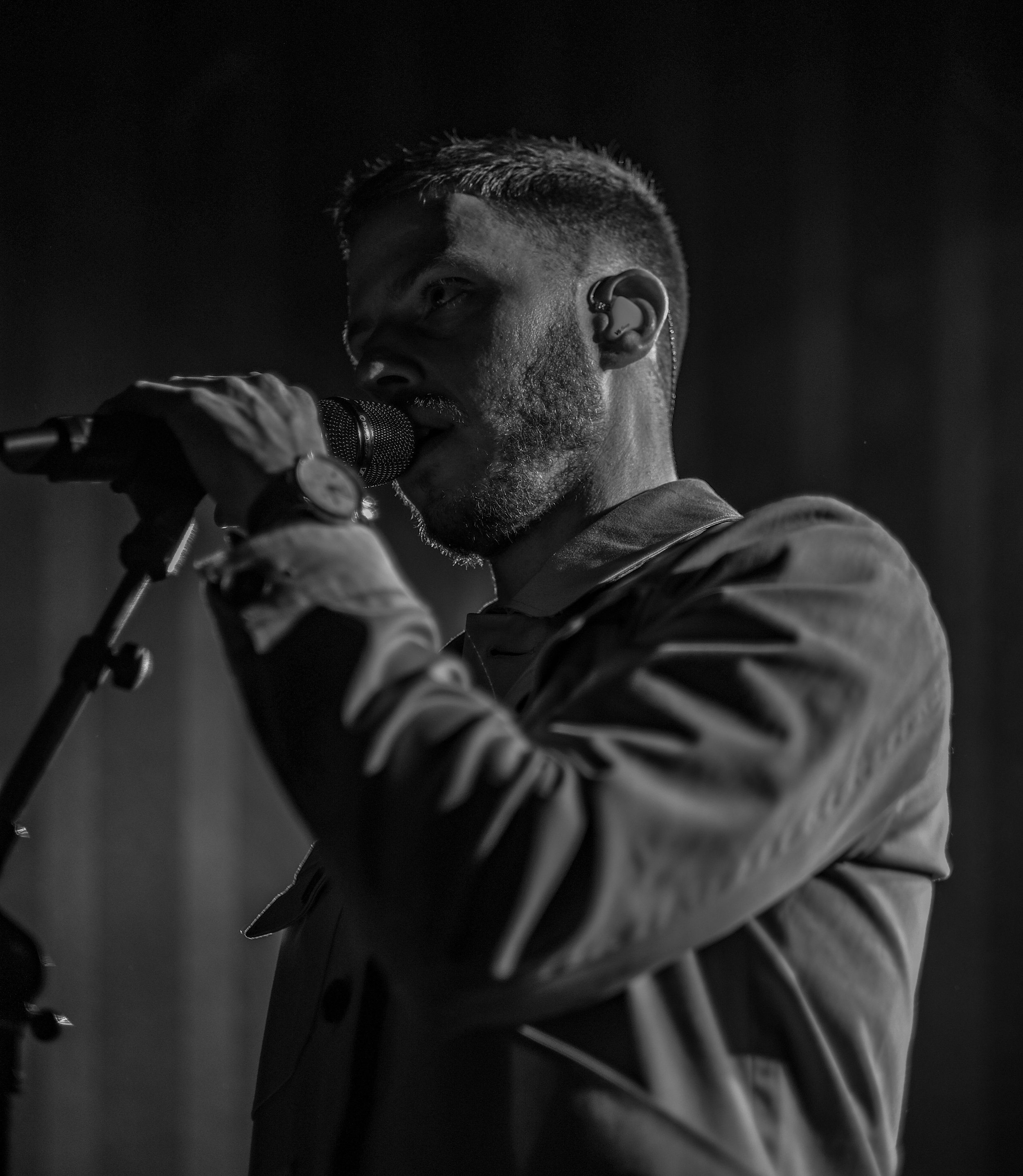 Nick Brewer performing at Hoxton Square in London, 2019. Photo by  Misan Harriman .