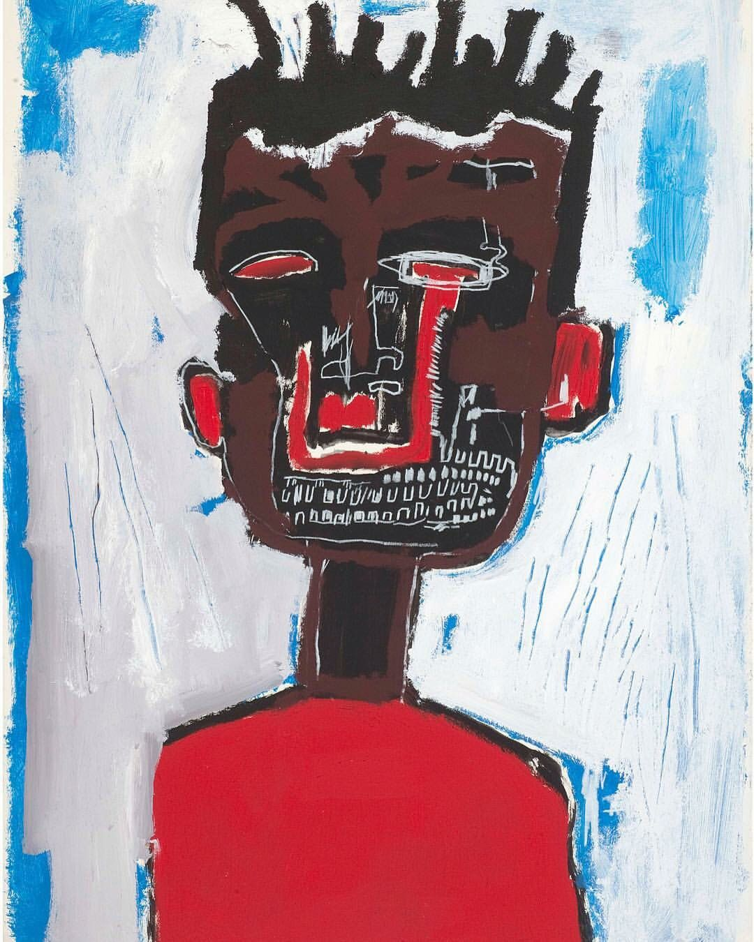 Self-Portrait, 1984 by Jean Michel-Basquiat.