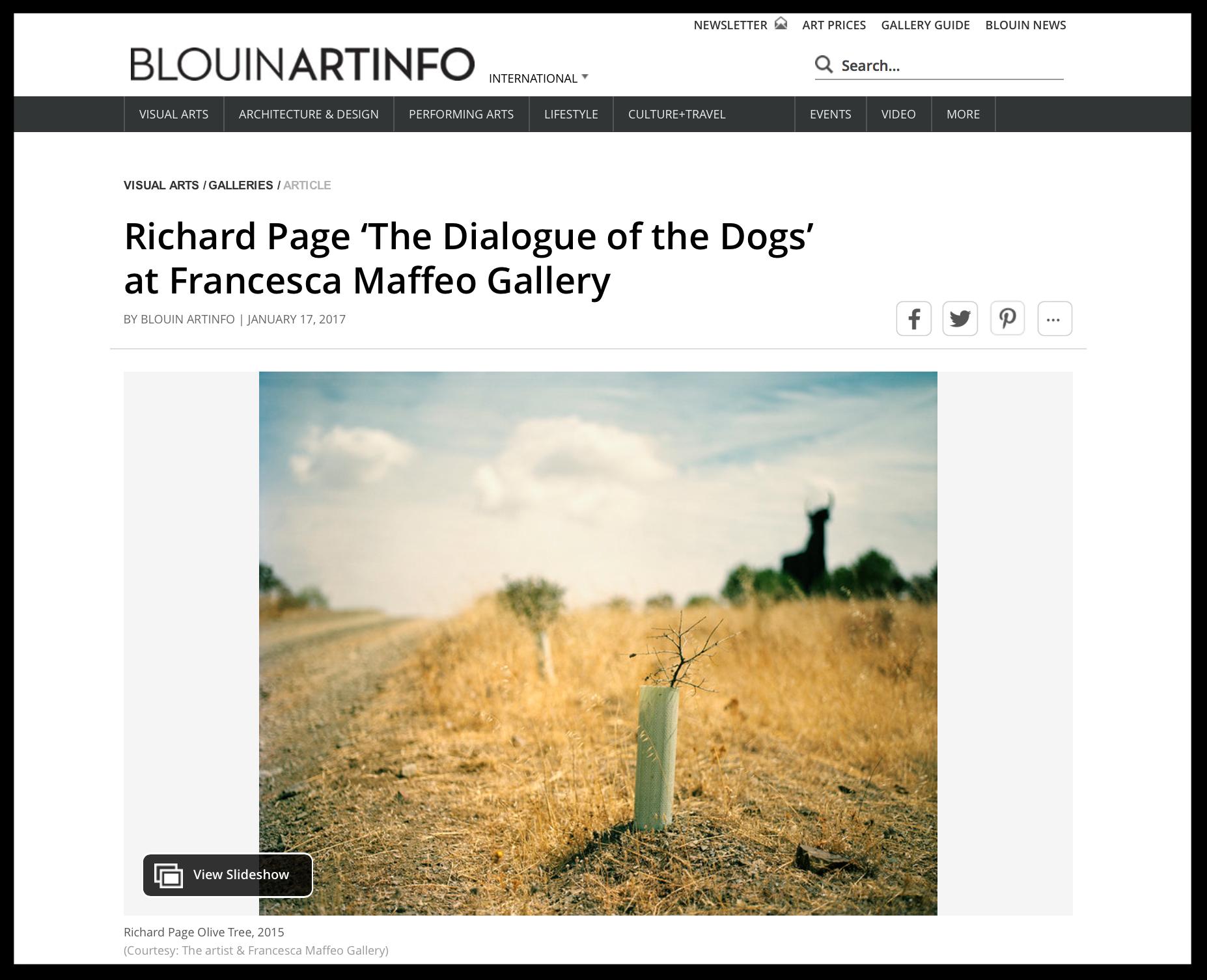 BLOUIN | ARTINFO