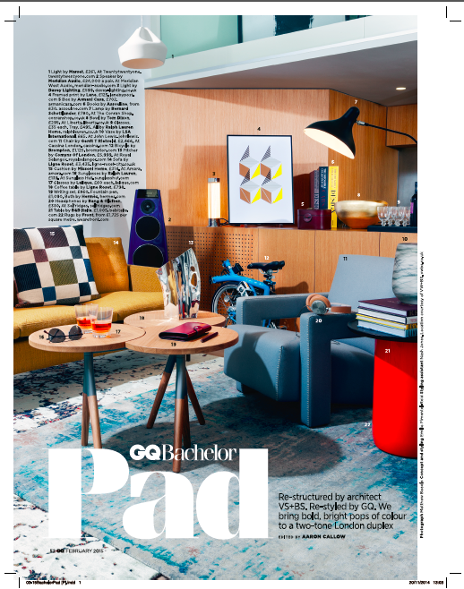 GQ Magazine, February 2015