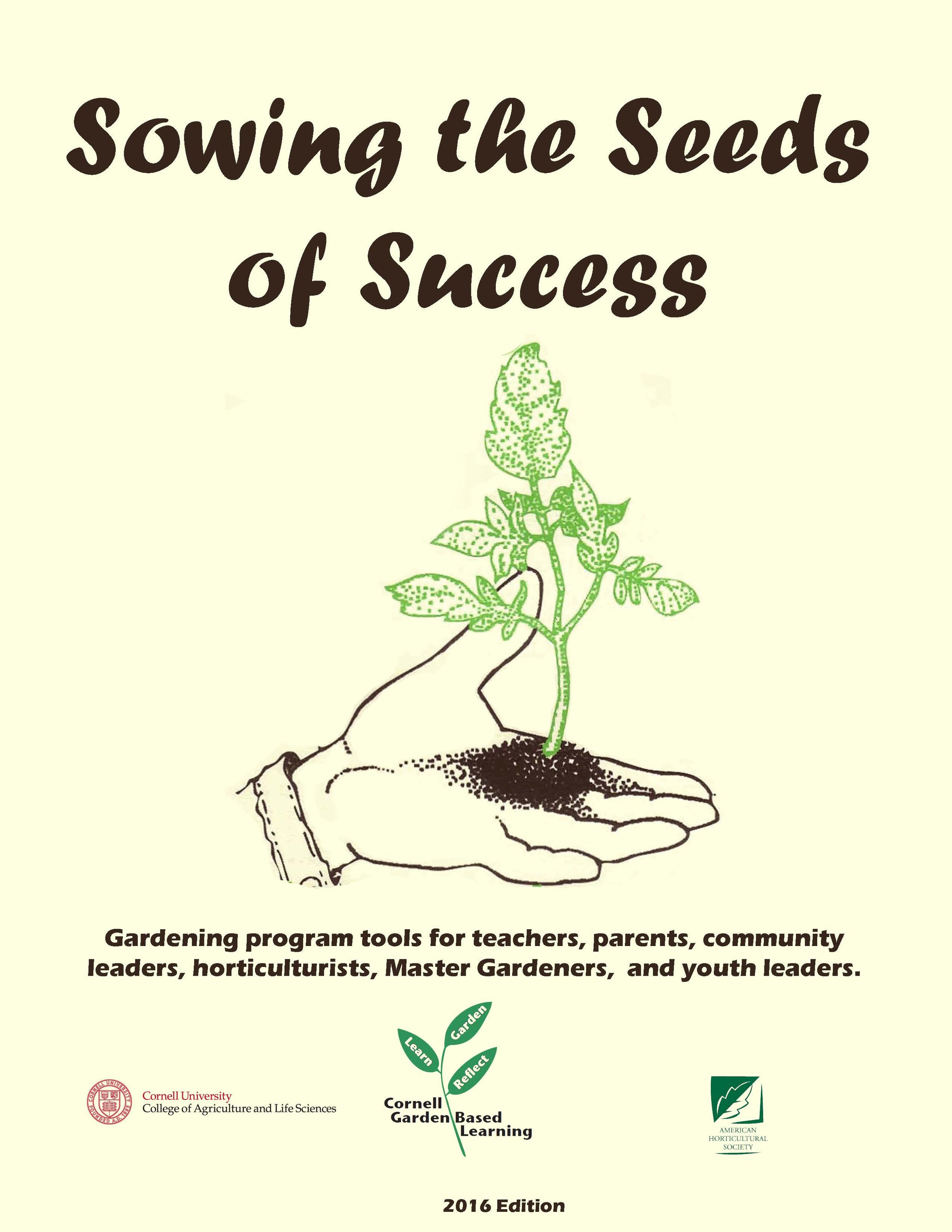 Sowing the Seeds of Success: a web-based program planning tool