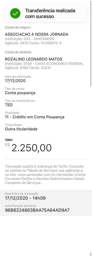 17.12 pedreiro 1ª parcela R$ 2.250,00.jpeg