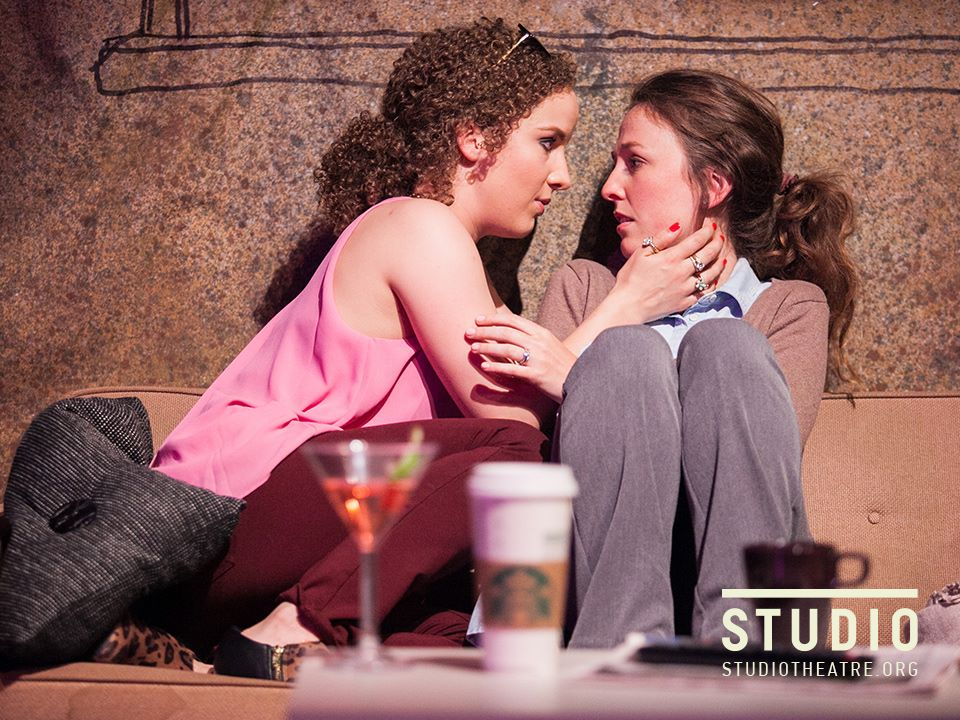 Mary-Kate Olsen is in Love at Studio 2nd Stage. Directed by Holly Twyford, Costumes by Kara Waala, Set Design by Paige Hathaway, Photo by C. Stanley Photography