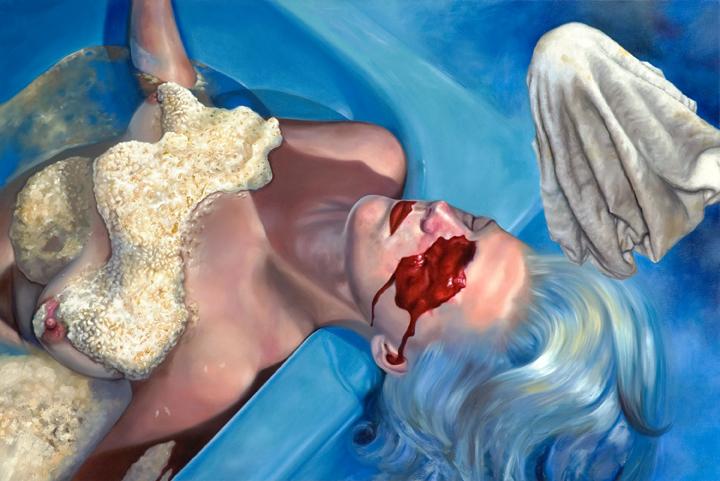Agape  oil on canvas  48 x 72