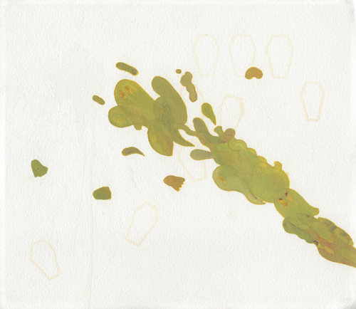 untitled (from Buried Pangs/Spattering)