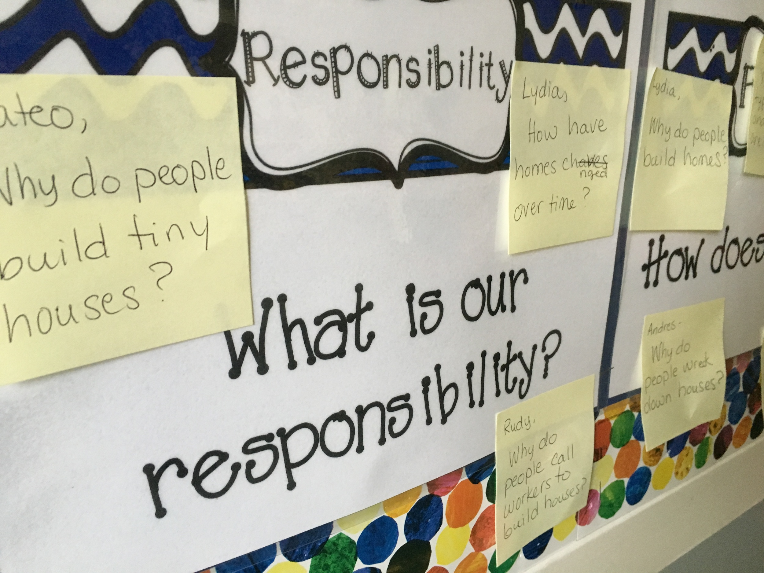 Teach students to ask different kinds of questions with increasing complexity. And shape units around students' own questions and sense of social responsibility.