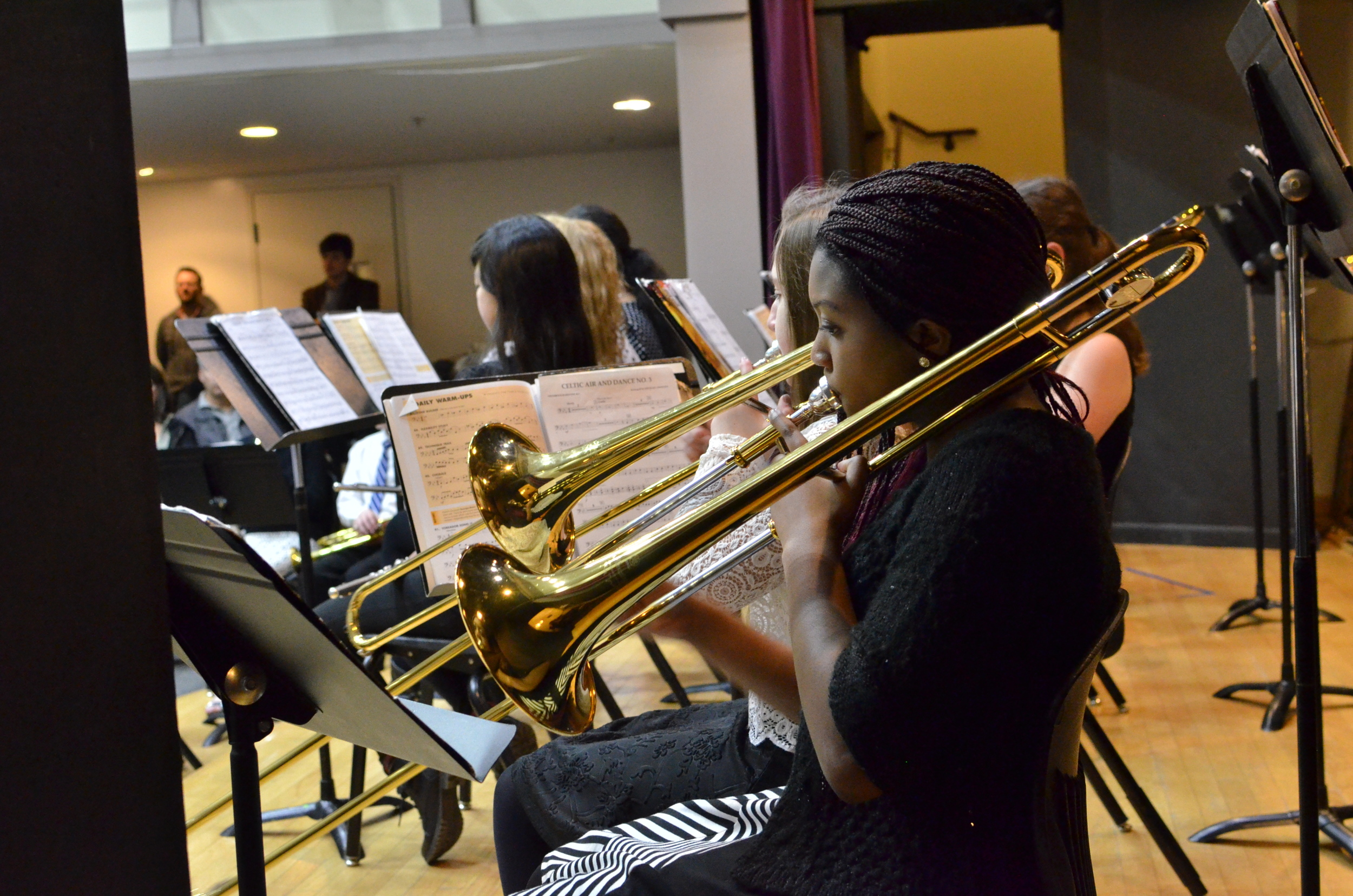 Students learn that music communicates emotions and ideas much differently than words.