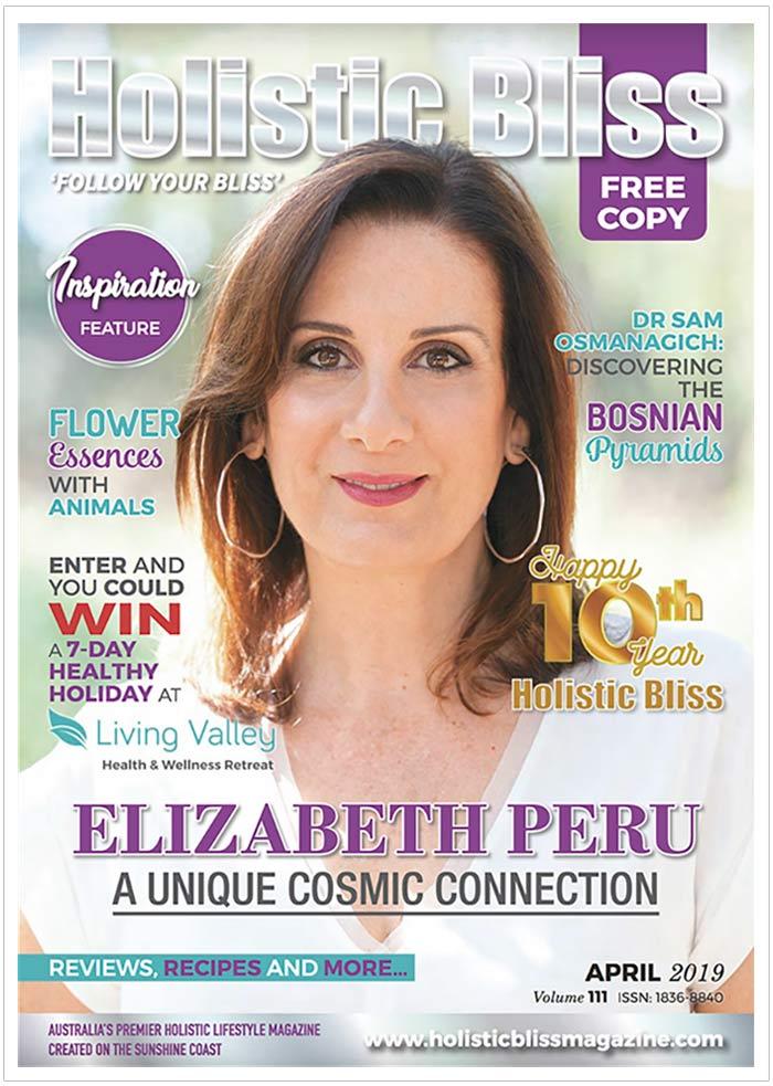 elizabeth peru cosmic guide holistic bliss