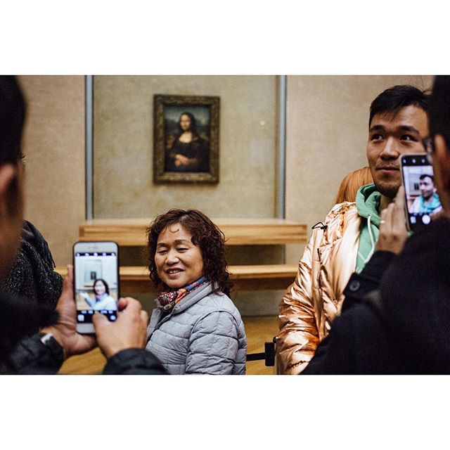The Louvre . . . #louvre #monalisa #paris