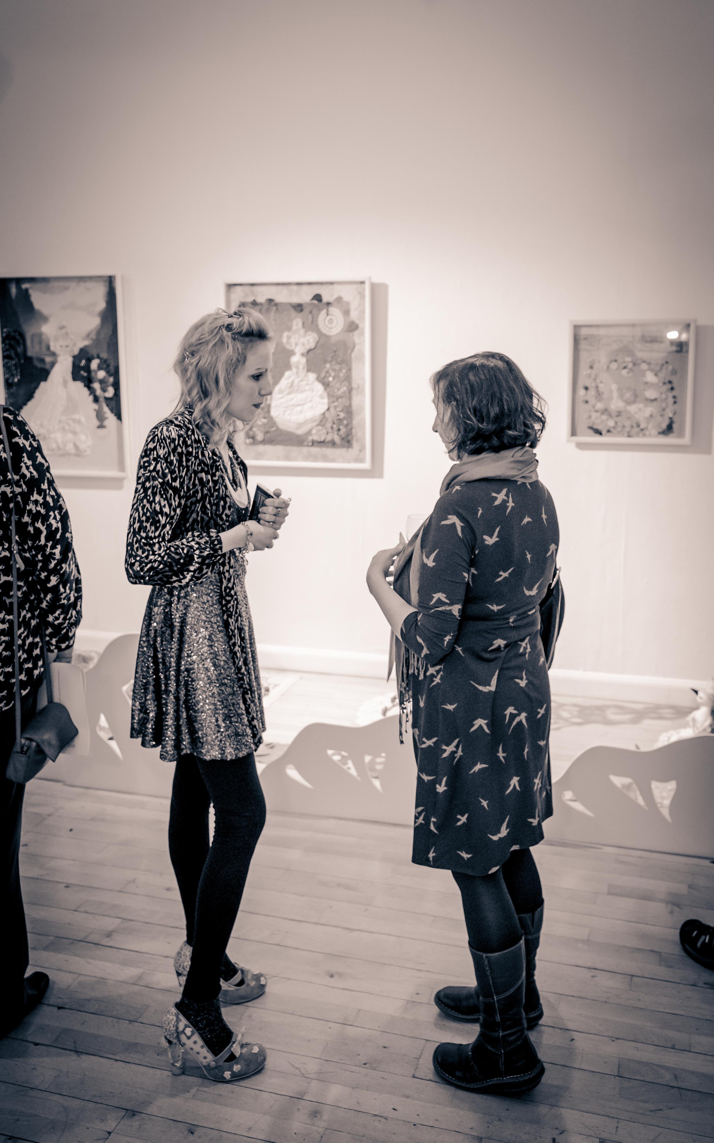 'In Dreams' Exhibition opening night - 2013