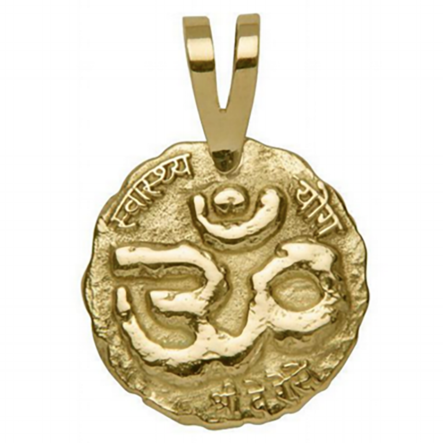 A PENDENT WITH HISTORY - Our double-sided pendant can be used simply as an accessory or for mindfulness meditation.The ancient ÔM symbol displayed on our pendant represents the sound of the universe and is considered the matrix of all sounds. It's the ancient Indian equivalent of the