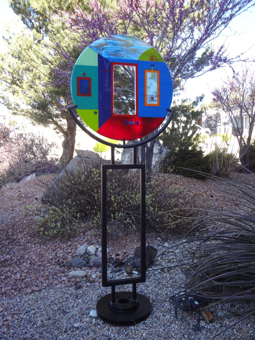 """Opening<a href=>→</a><strong> 61"""" x 24""""  $3,500 (includes stand)</strong>"""