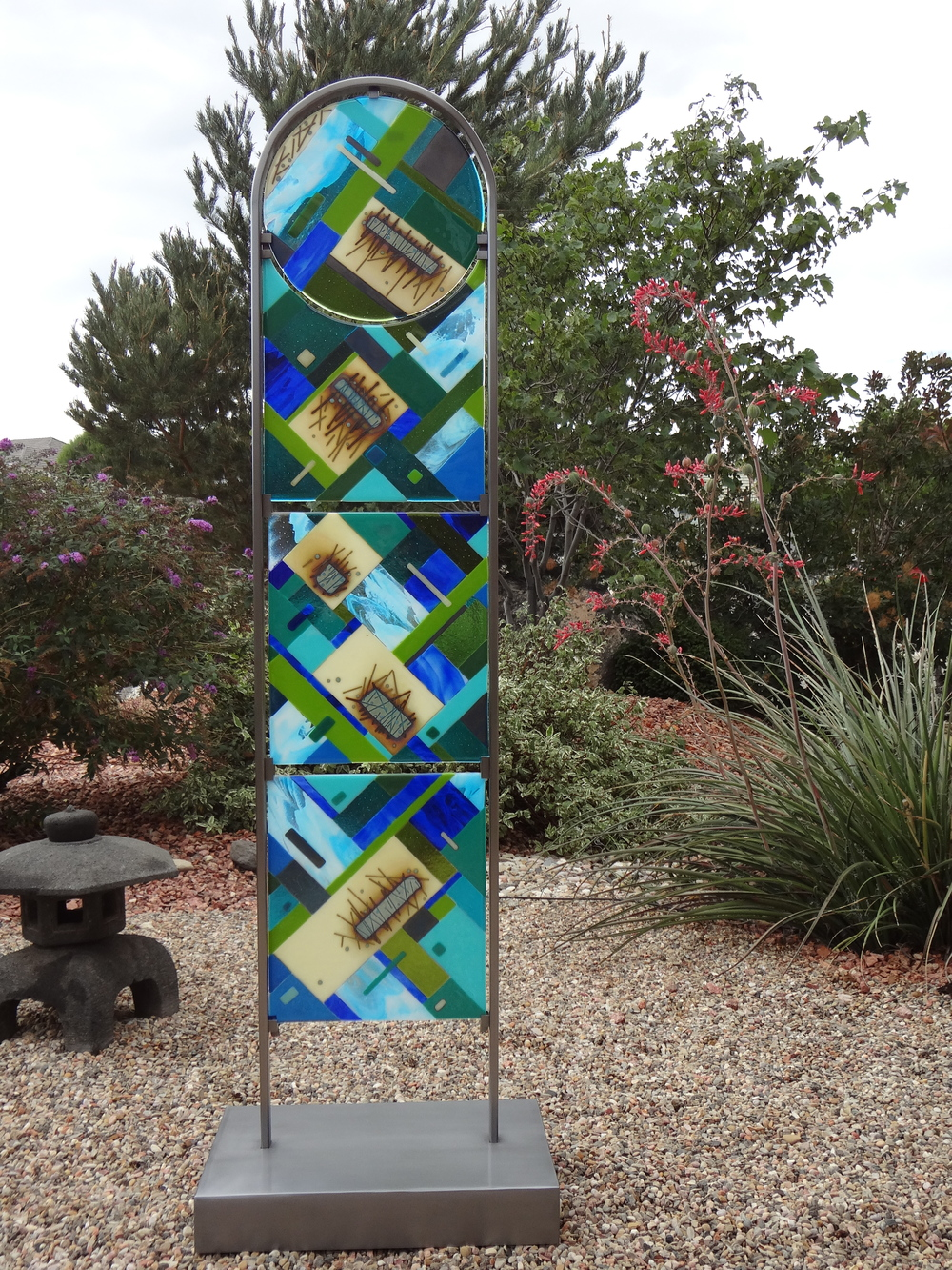 """Falling<a href=>→</a><strong>60"""" x14"""" with Stand $2,000</strong>"""