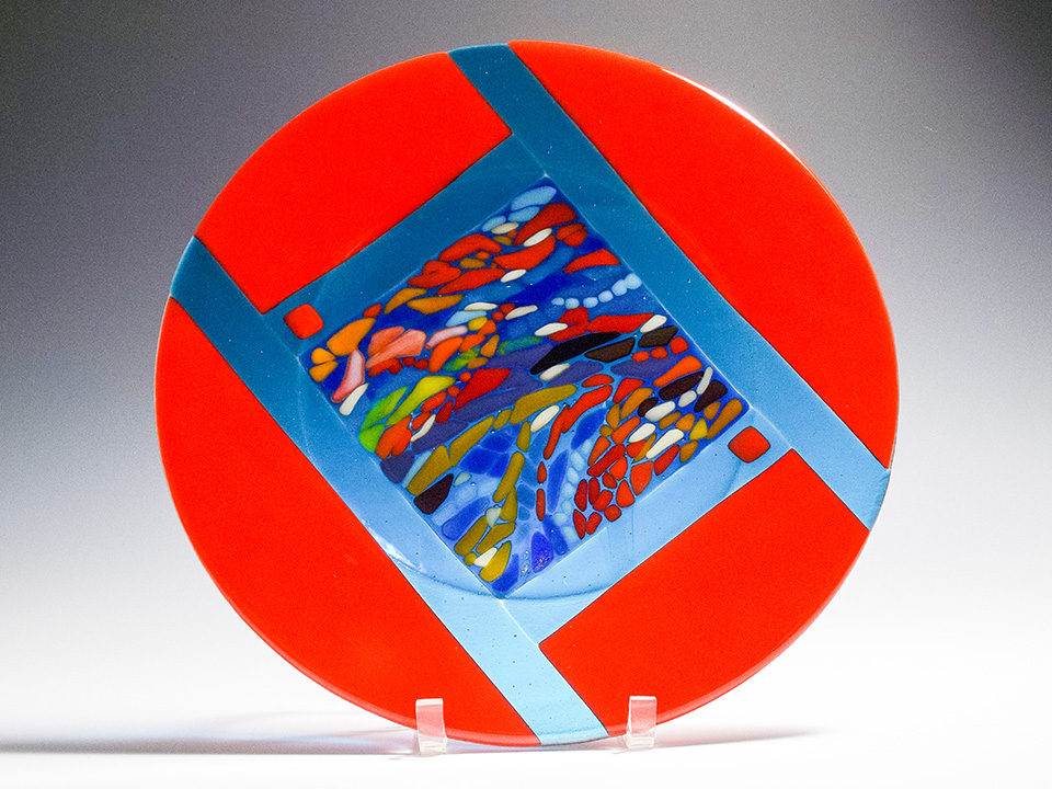 """Canyon Ripples<a href=>→</a><strong>12"""" Diameter $325</strong>"""