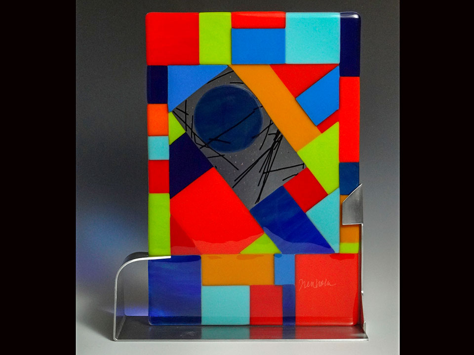 "Multi Diagonal Pattern<a href=>→</a><strong>16"" x 9"" $325</strong>"