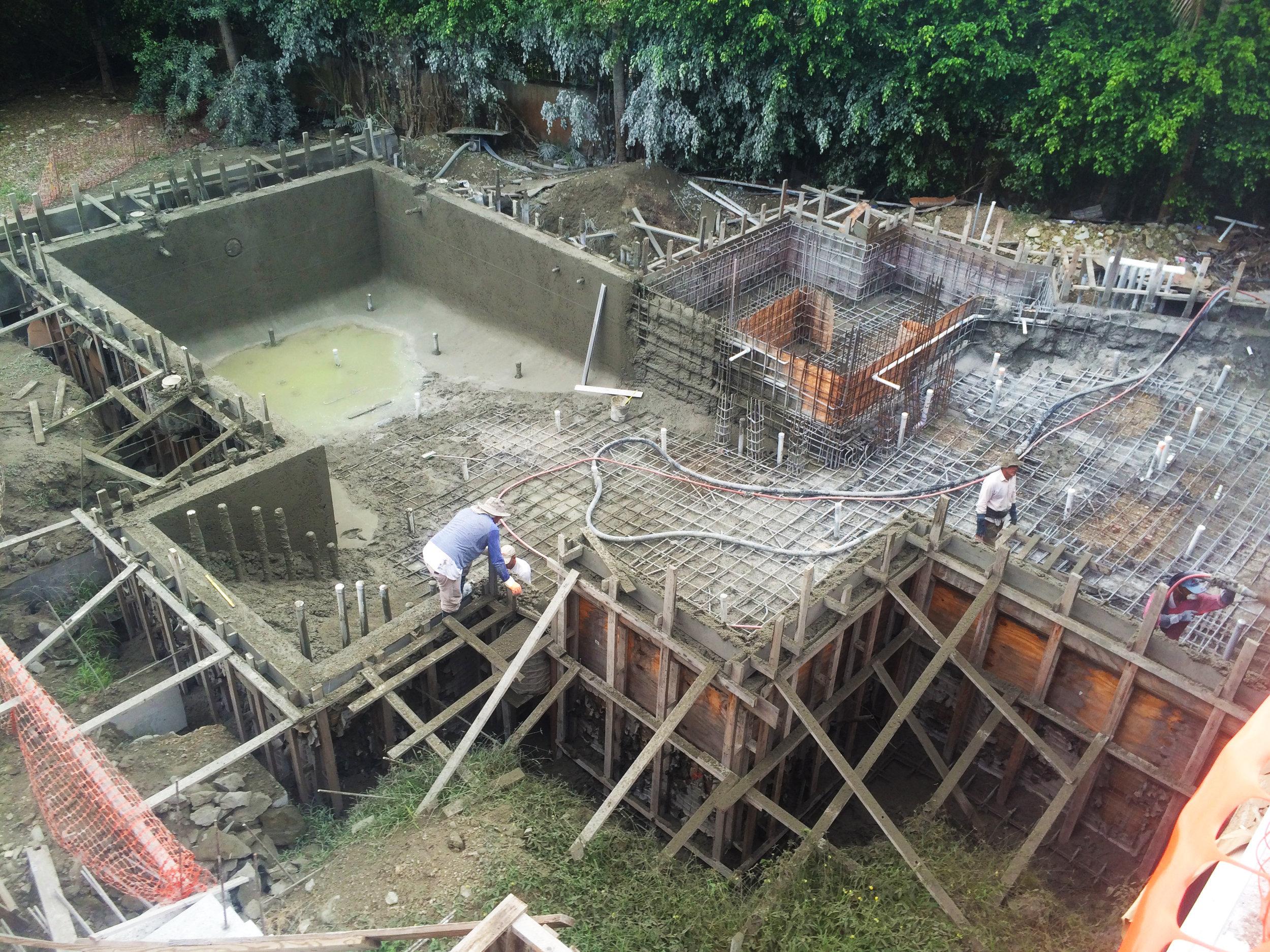 CONSTRUCTION PROCESS -