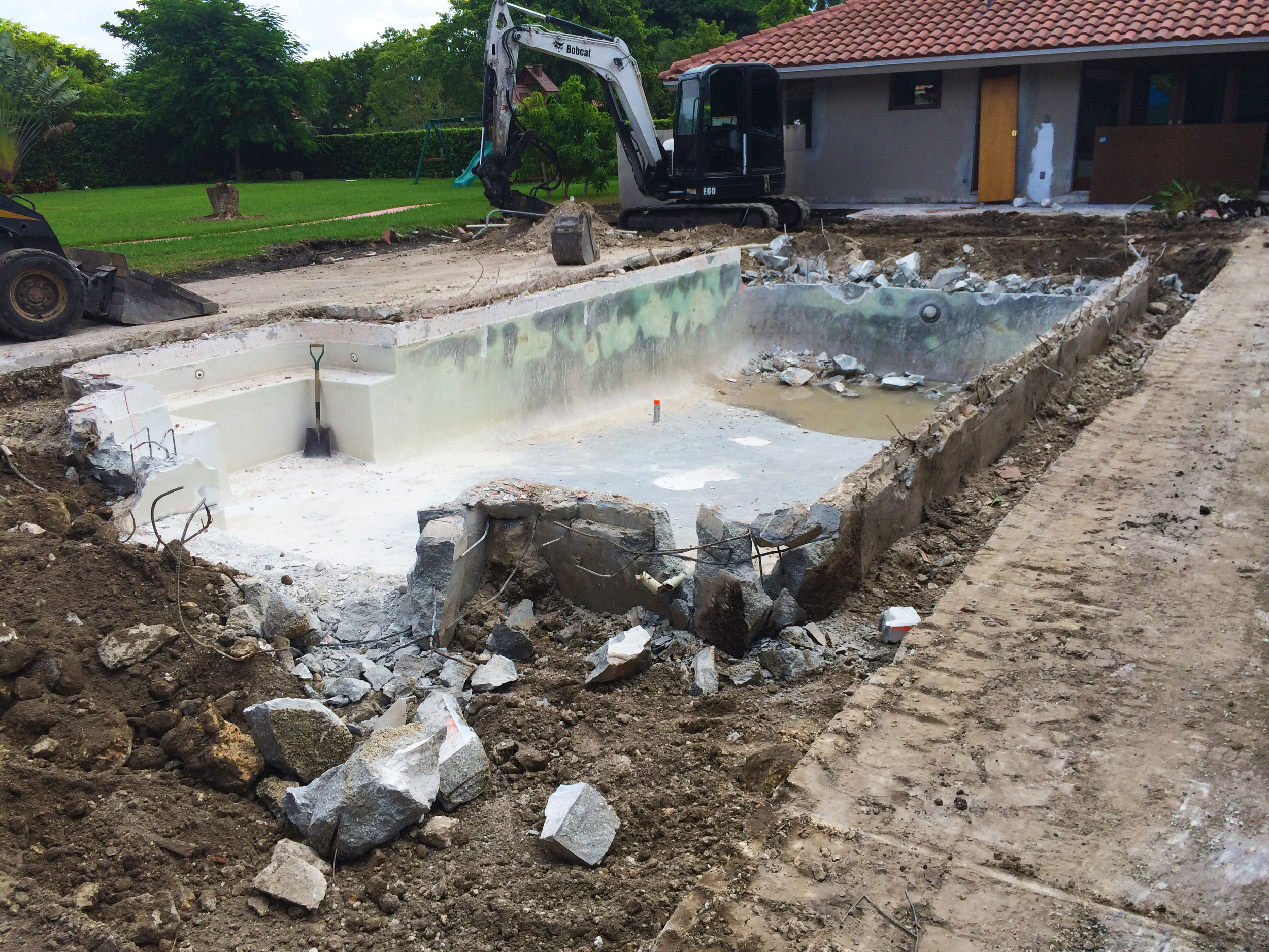 POOL RENOVATIONS -