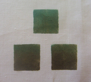 """Three Square Stencil:  Can be arranged any way you wish. Each group of 3 squares is 3"""" x 3"""".$25.00 per motif"""
