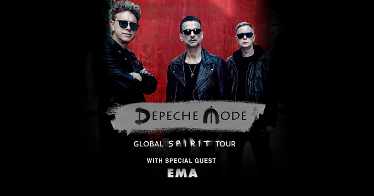 More dates with  Depeche Mode ! After our European dates supporting these legends we will do a limited run in the US in June.