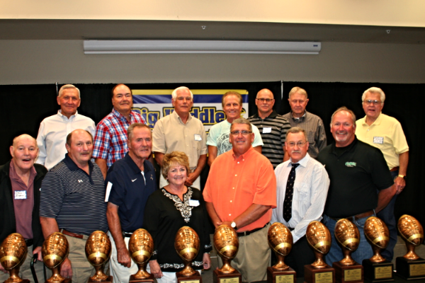 Coaches honored at the 2014 Big Huddle Reunion and Rally
