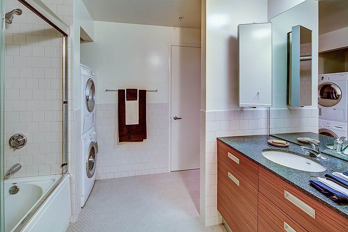 Bathroom and Laundry Area