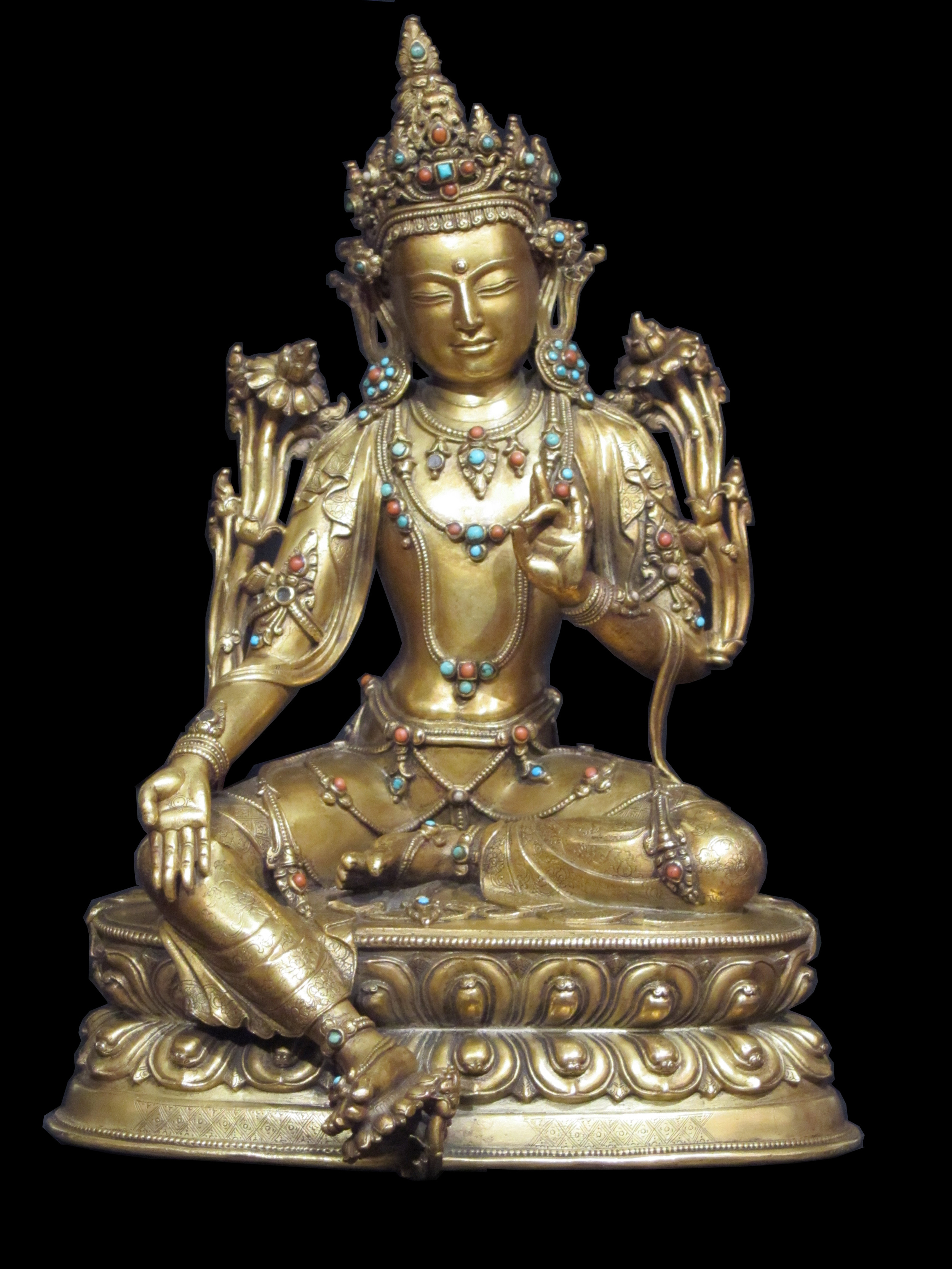 AVALOKITESHVARA the one who listens to the cries of the world