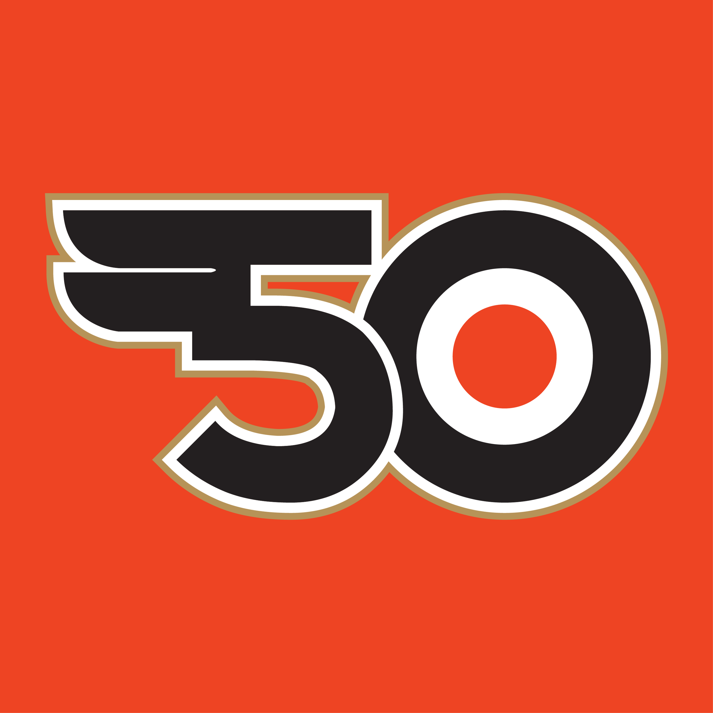 Philadelphia Flyers 50th Anniversary Logo