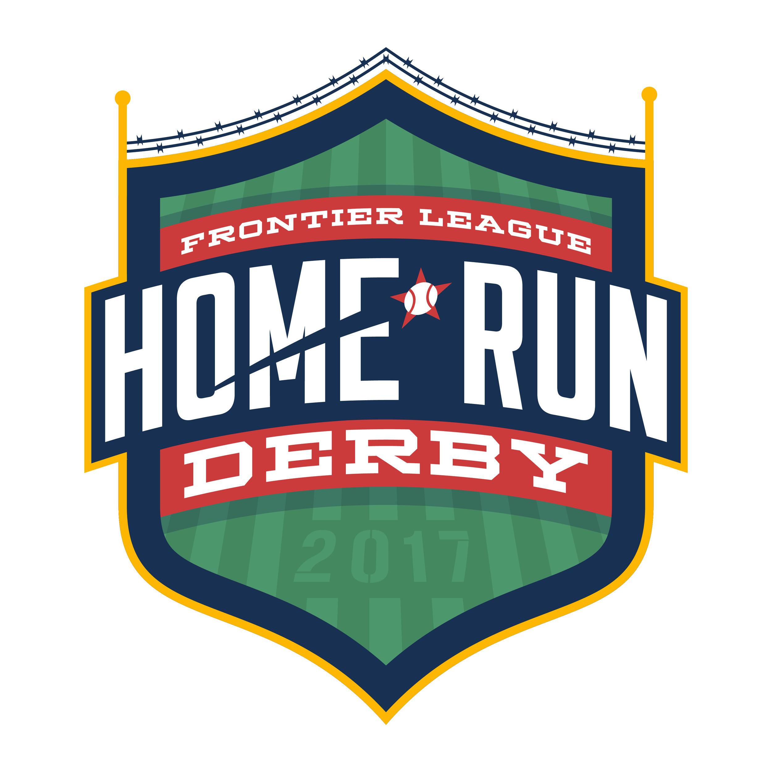 2017 Home Run Derby Logo hosted in Joliet on July 11, 2017.