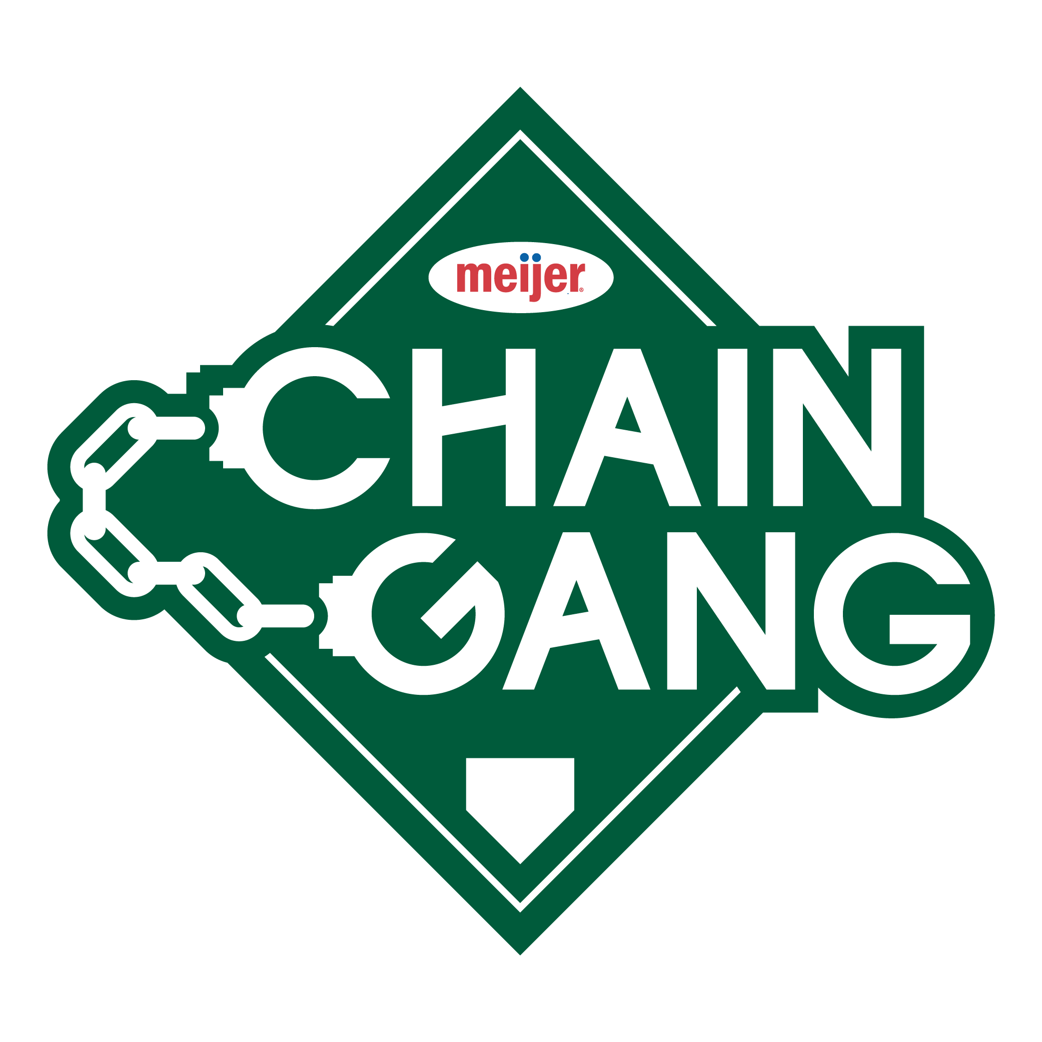 Chain Gang logo created for the team's promotional team to wearing during games and at events.