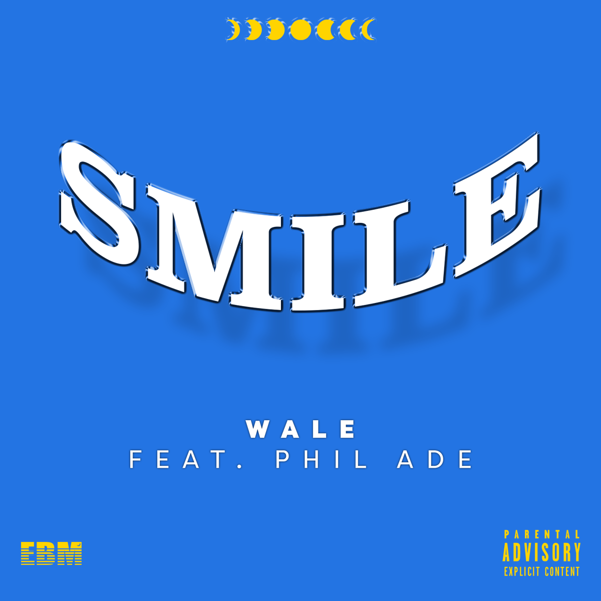 """Official single cover for Wale's single """"Smile"""". The song appeared on his 2017 album """"Shine"""" and was preformed as an encore at his tour."""