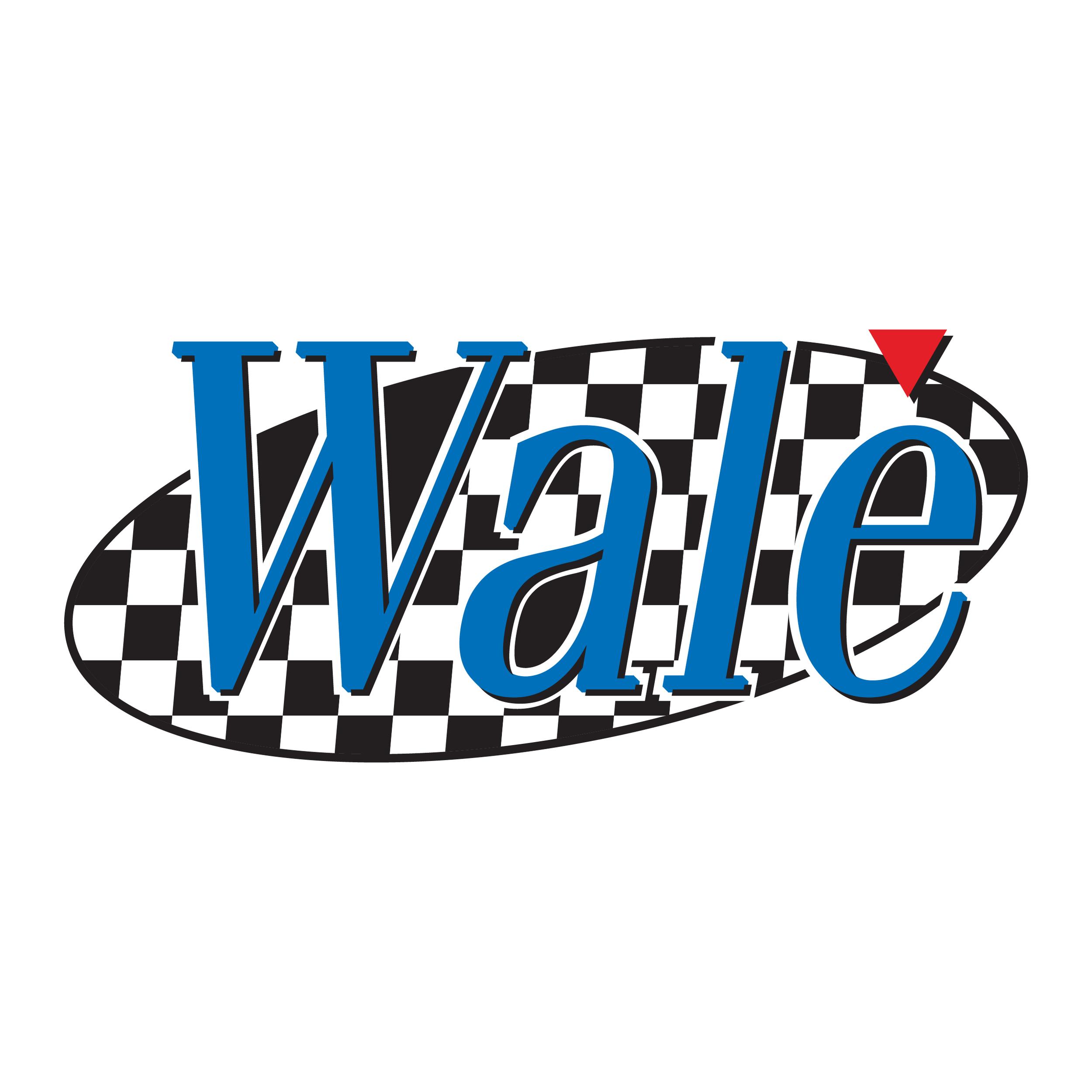 "UNUSED alternate Wale logo also based on early  ""Seinfeld""branding ."