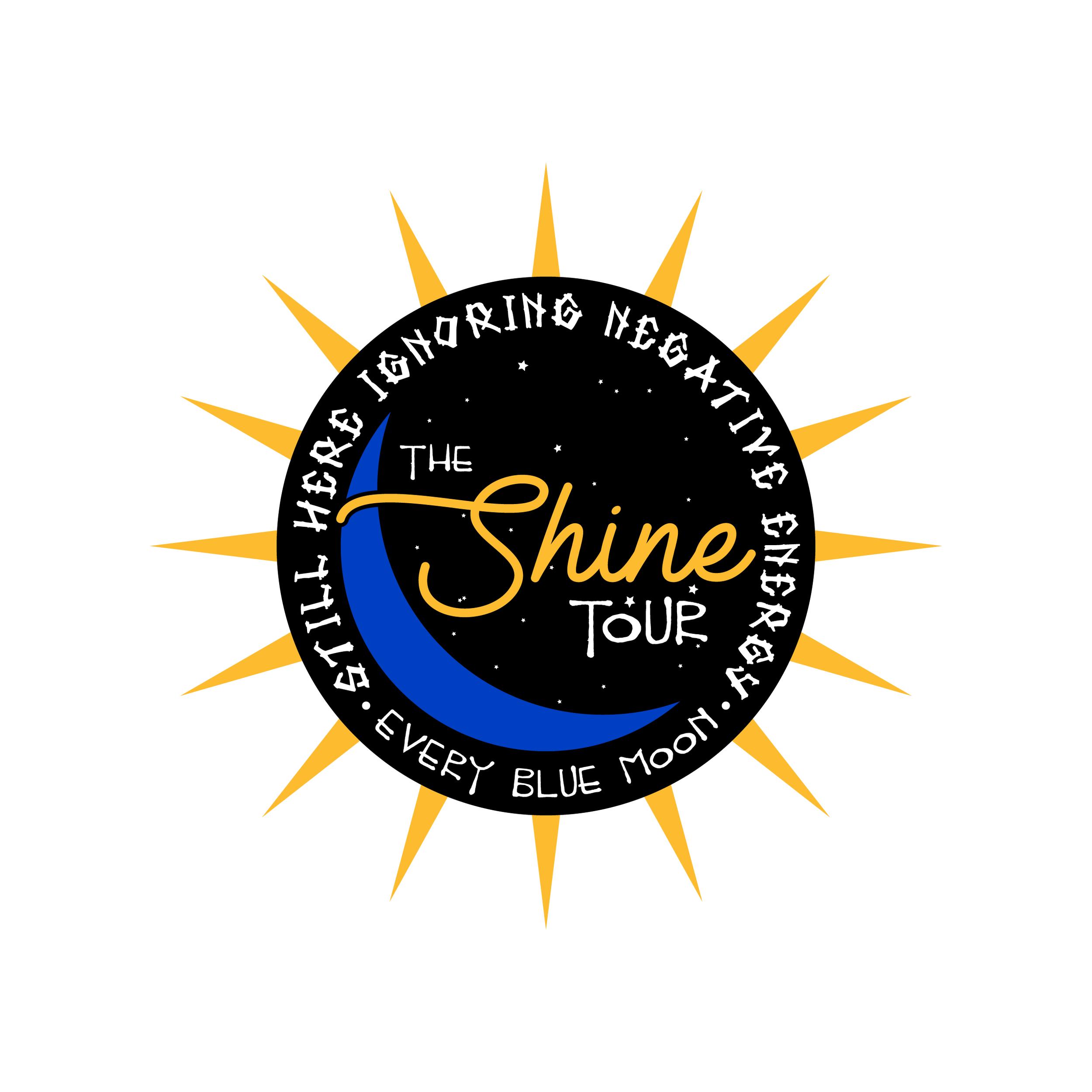 "UNUSED tour merchandise for Wale's 2017 ""The Shine Tour""."