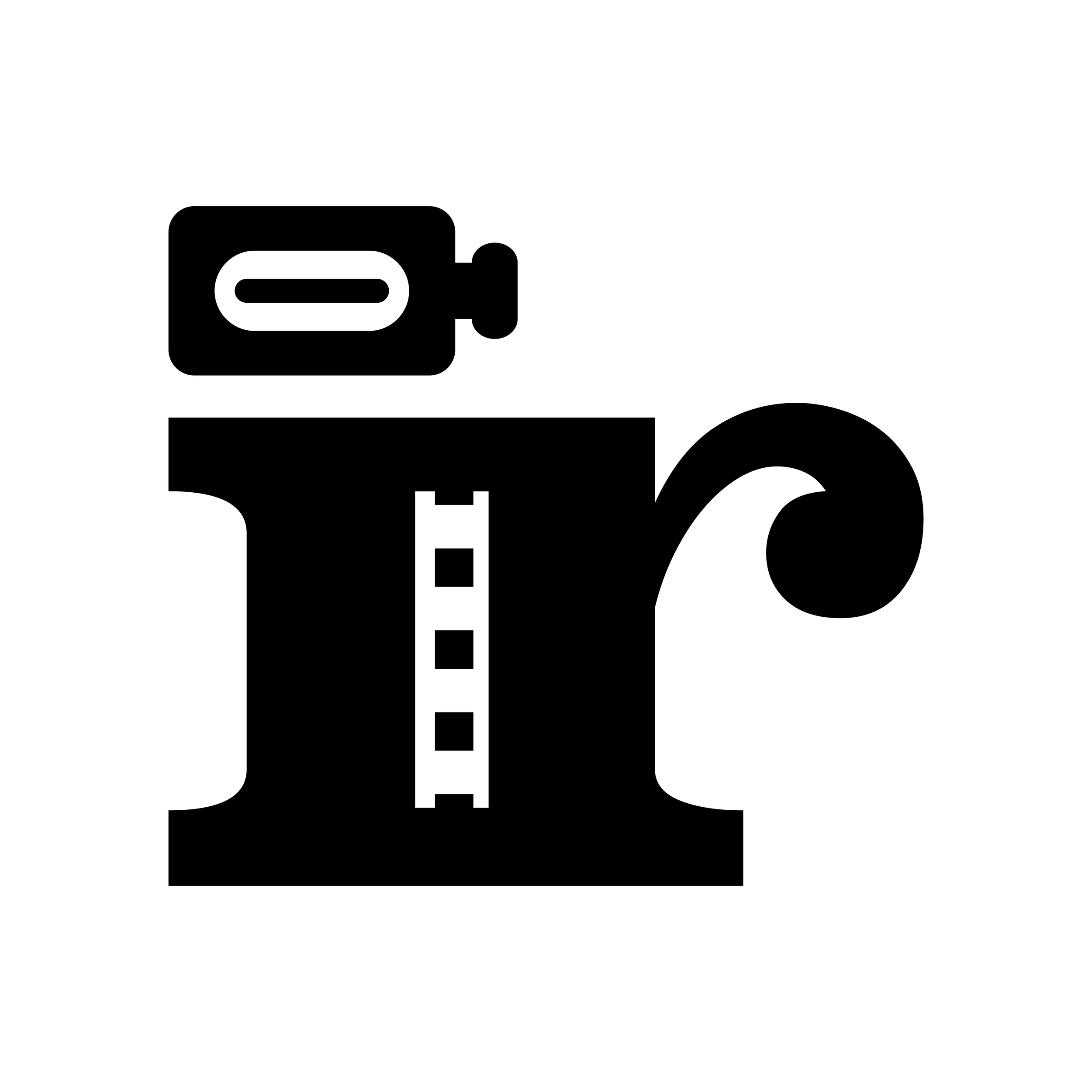 """Logo and website design for Chicago-based hip-hop videographer, Ian Rennels. Logo features initials separated by a film stripped and a camera dotting the """"i"""". • ianrennels.video"""