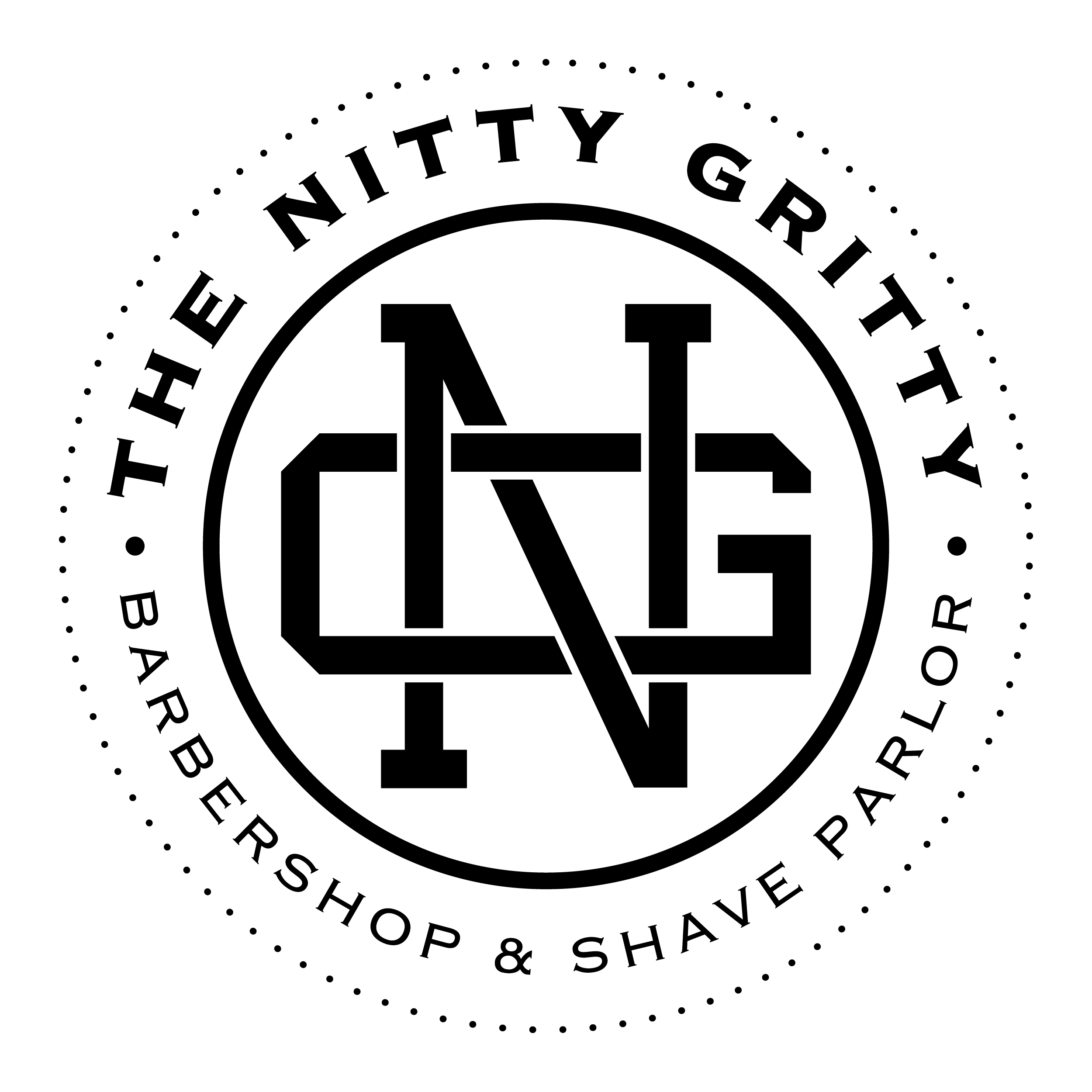 Design logo for local barbershop in Yorkville IL. Artwork used to window decals, custom embroidered accessories, clothing/merchandise, and more.