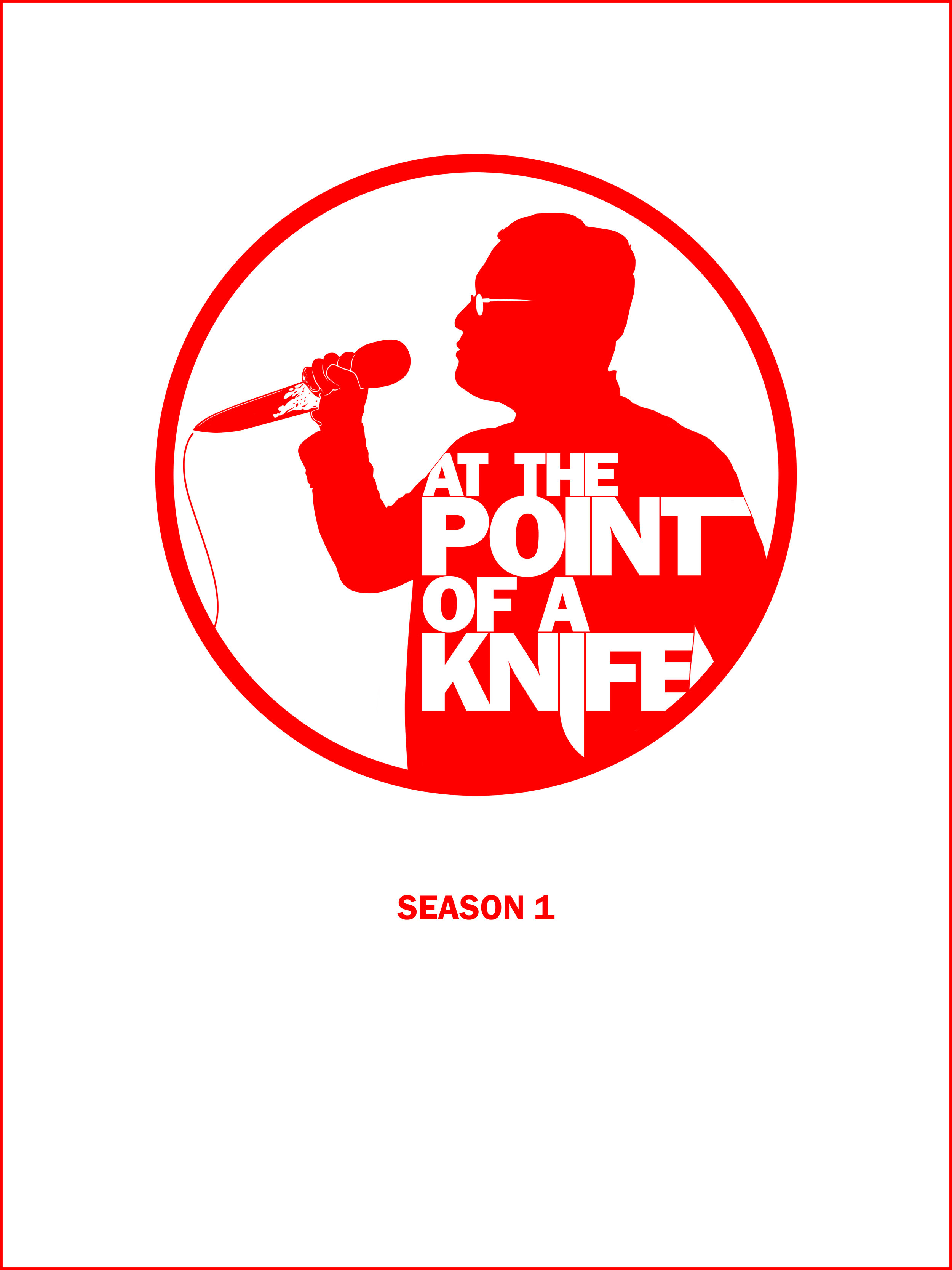 At The Point of A Knife Release Poster - Film and TV - Jonathan B Perez - cREAtive Castle Studios.jpg