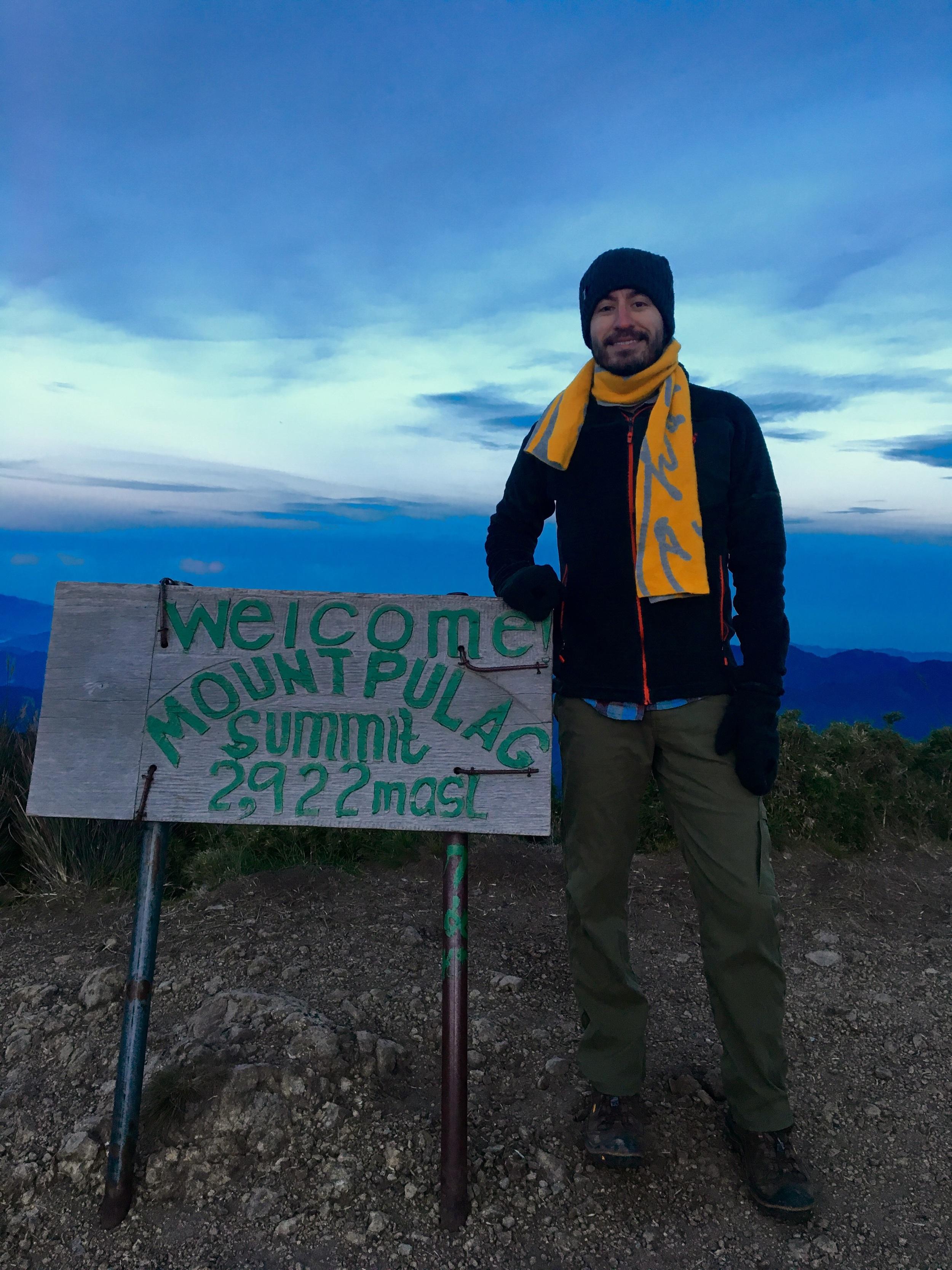 2922 meters or 9587 feet