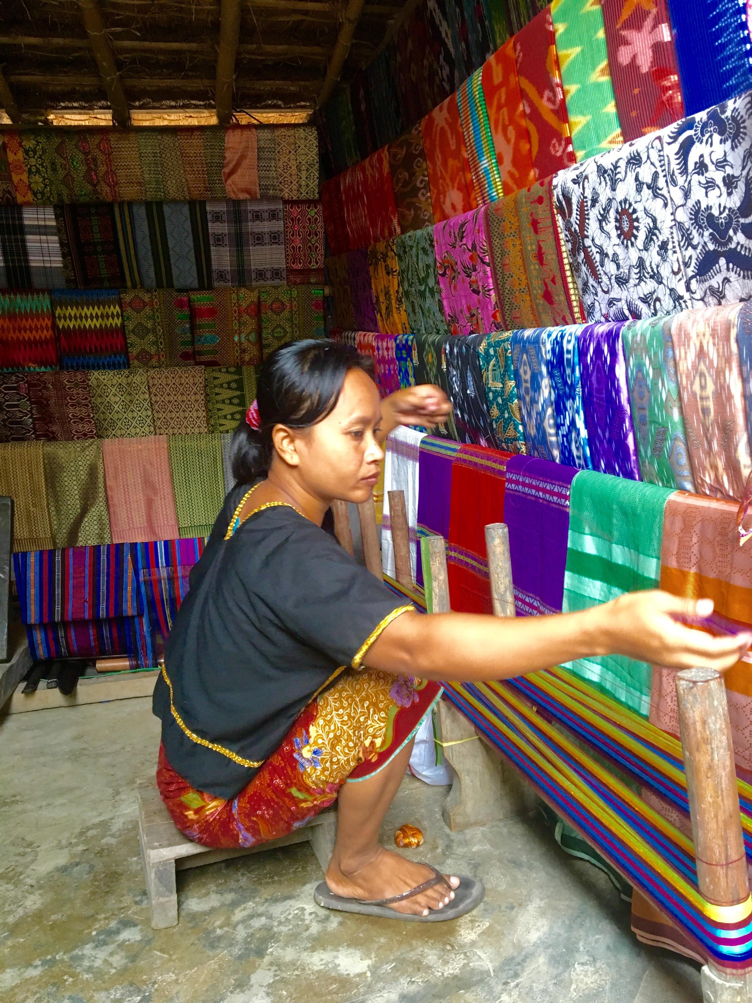 Handmade sarongs